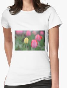 Pretty tulips Womens Fitted T-Shirt