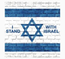 I Stand With Israel! One Piece - Short Sleeve