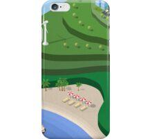 Beach Sea isometric  iPhone Case/Skin