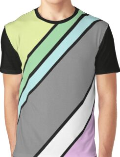 Urban Geometry 2 - Colour At 45 Degrees Graphic T-Shirt