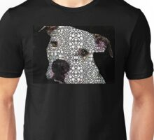 Stone Rock'd Dog by Sharon Cummings Unisex T-Shirt