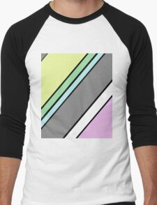 Urban Geometry 2 - Colour At 45 Degrees Men's Baseball ¾ T-Shirt