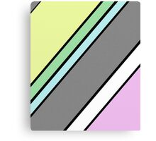 Urban Geometry 2 - Colour At 45 Degrees Canvas Print