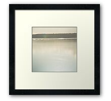 mirror calm Framed Print