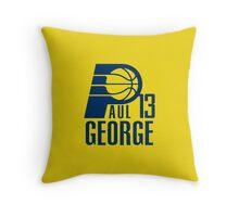 Paul George 13 Throw Pillow