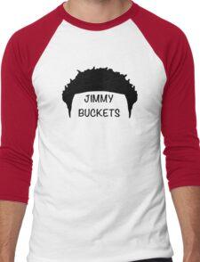 Jimmy Buckets Men's Baseball ¾ T-Shirt