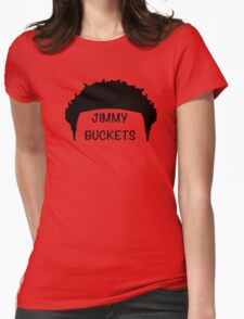 Jimmy Buckets Womens Fitted T-Shirt