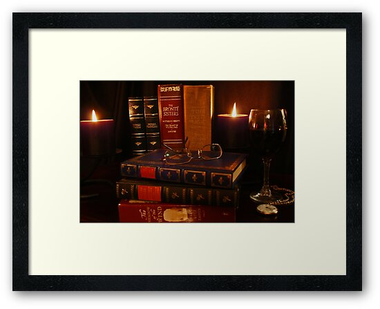 Books and Wine by Candlelight by Evita