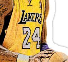 Kobe Bryant Lakers Sticker