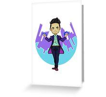 NY Magnus Bane Greeting Card