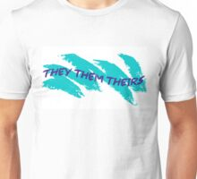 THEY/THEM/THEIRS SOLO CUP PRONOUNS Unisex T-Shirt