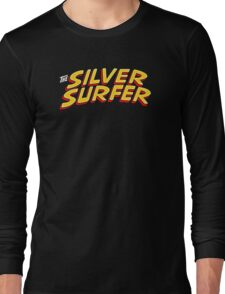 Silver Surfer - Classic Title - Clean Long Sleeve T-Shirt