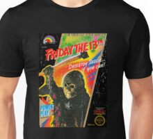 NES Friday the 13th Distressed Cover Unisex T-Shirt