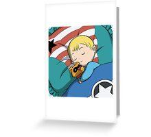 Baby Steve & Bucky Bear Greeting Card