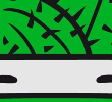 face baby comic cartoon cactus cactus flower pot cup small cute sweet green balcony Sticker