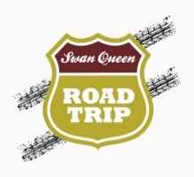 Swan Queen Road Trip One Piece - Short Sleeve