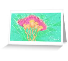 Pot of wattle gold Greeting Card