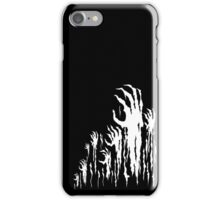 Hell's Hands (Black and White) iPhone Case/Skin