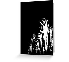 Hell's Hands (Black and White) Greeting Card