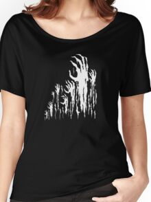 Hell's Hands (Black and White) Women's Relaxed Fit T-Shirt
