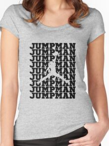 Jumpman Women's Fitted Scoop T-Shirt