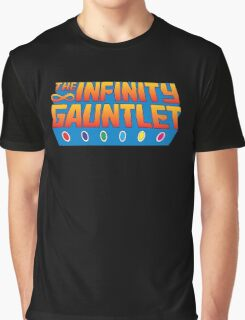 Infinity Gauntlet - Classic Title - Clean Graphic T-Shirt