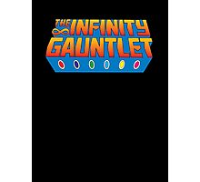 Infinity Gauntlet - Classic Title - Clean Photographic Print