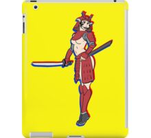 pin up samurai iPad Case/Skin