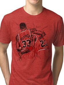 Flu Game Tri-blend T-Shirt