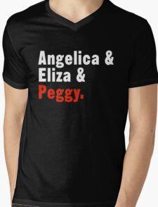 The Schuyler Sisters Mens V-Neck T-Shirt