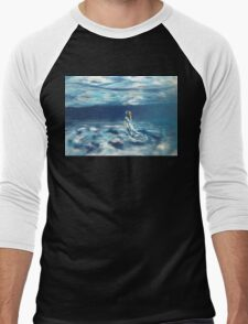 under the waves Men's Baseball ¾ T-Shirt
