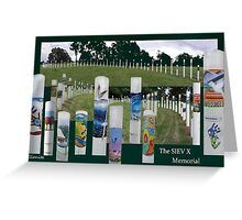 The SIEV X Memorial  (please read) Greeting Card