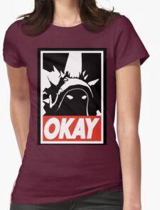 OKAY Rammus parody Womens Fitted T-Shirt