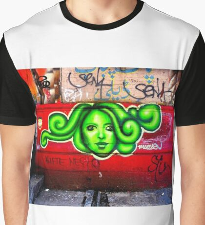 oh beautiful green medusa Graphic T-Shirt