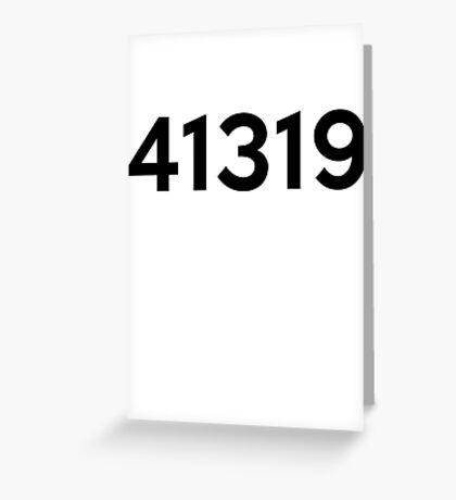 41319 Greeting Card