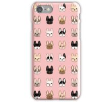 Frenchies Family  iPhone Case/Skin