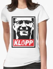 Obey Klopp Womens Fitted T-Shirt