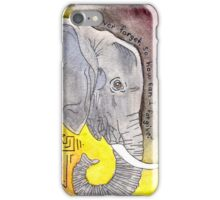 Infidelephant iPhone Case/Skin