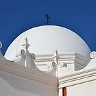 San Xavier Mission by Kathleen Brant