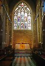 Altar—Saint David's Cathedral, Hobart by Brett Rogers