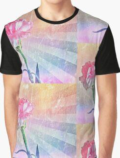 Pastel Carnation Graphic T-Shirt
