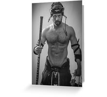Colin - Hot Gay Player series (ref. #3354) Greeting Card