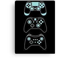 console gaming Canvas Print