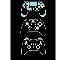 console gaming Photographic Print