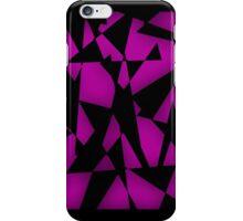 Triangular Fragments (Hot Pink) iPhone Case/Skin