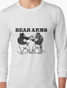 Bear Arms - A Right and a Left Long Sleeve T-Shirt