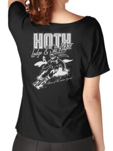 Hoth Lodge and Ski Resort Women's Relaxed Fit T-Shirt