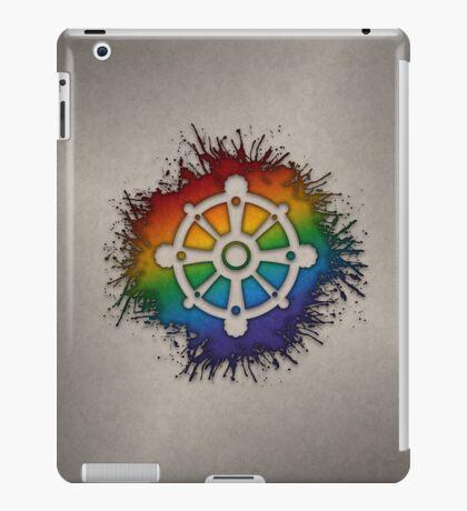LGBT Buddhist Wheel of Dharma  iPad Case/Skin
