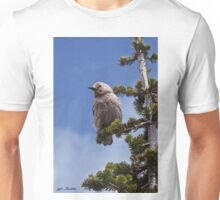 Clark's Nutcracker in a Fir Tree Unisex T-Shirt