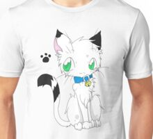 Buchi the white fur Cat Unisex T-Shirt